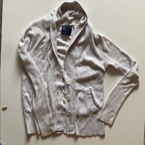 American eagle outfitters white cardigan